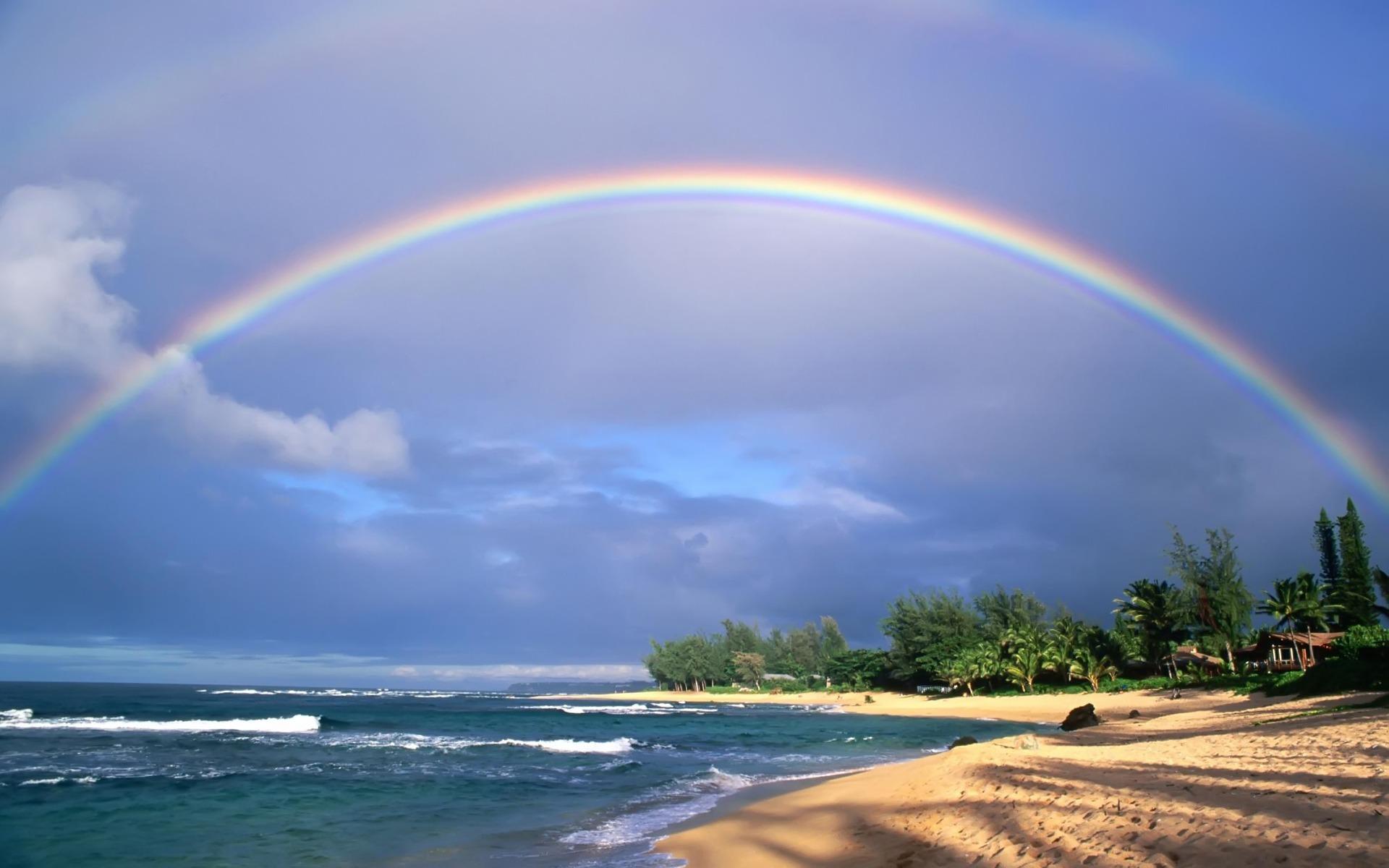 ¿Porqué cuando llueve forma un arco iris y no otra forma?